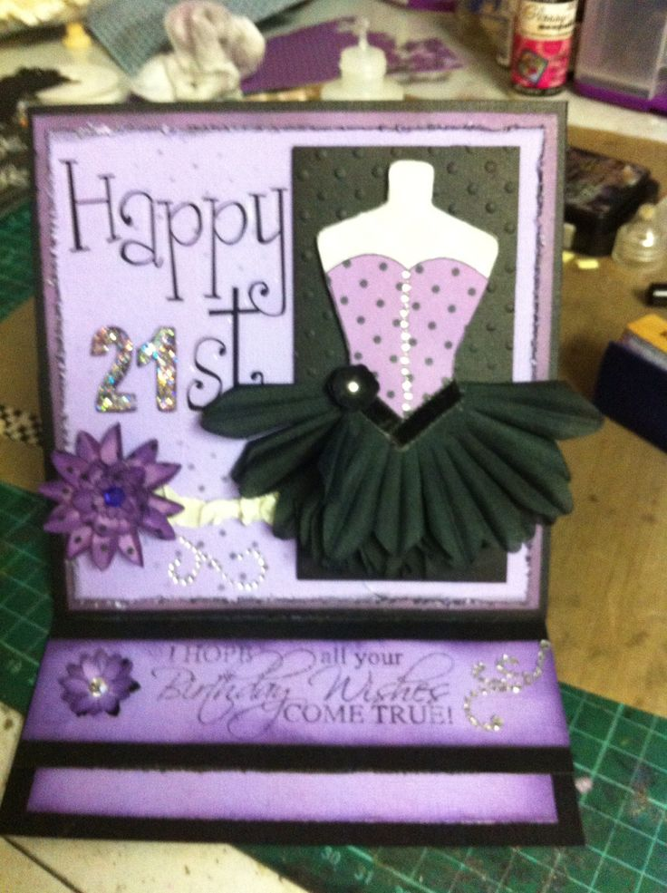 21st card using Kaszazz products