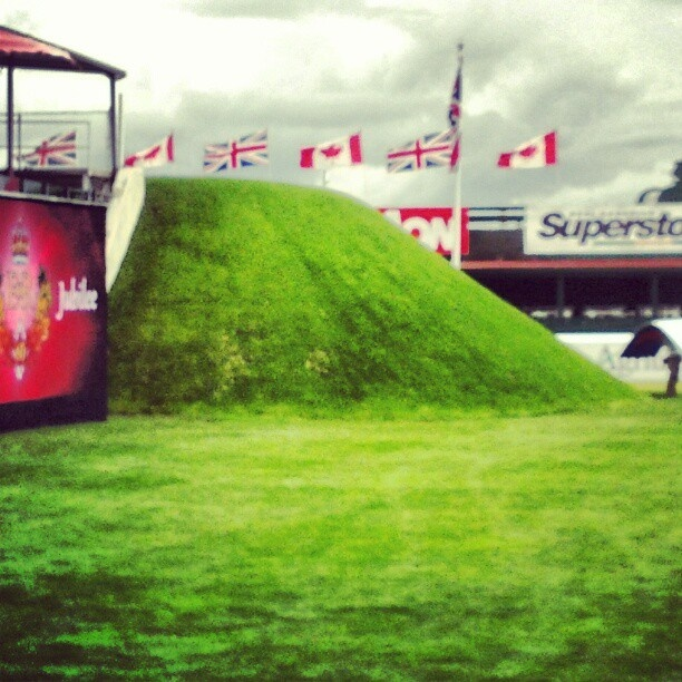 The bank in the international ring @Spruce_Meadows