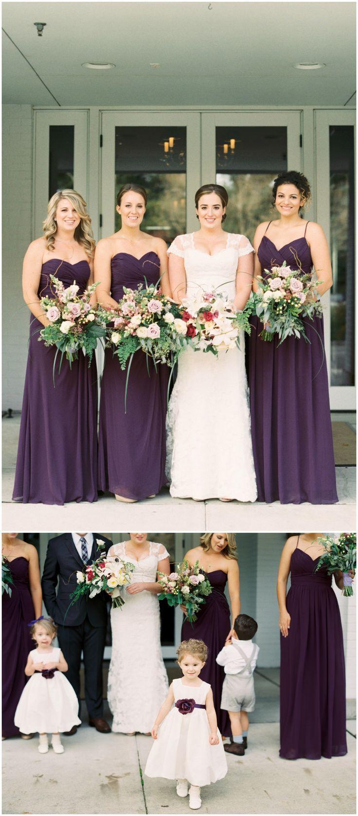 17 Best Ideas About Eggplant Bridesmaid Dresses On Pinterest Eggplant Weddi