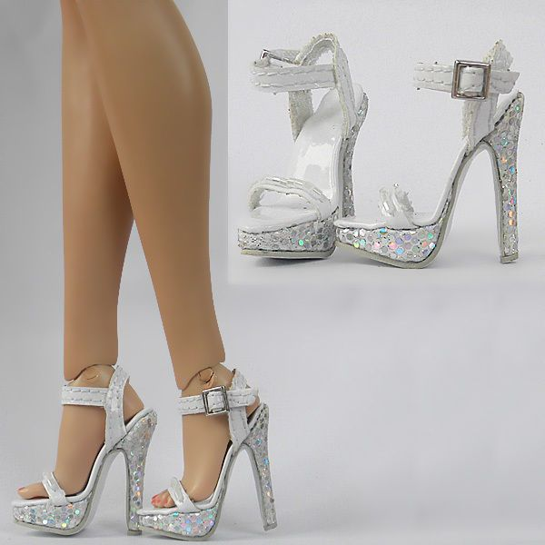"""Sherry Fashion Sexy Sandals/Shoes / 16"""" New Very High Heels Sybarites(18-SS-2"""