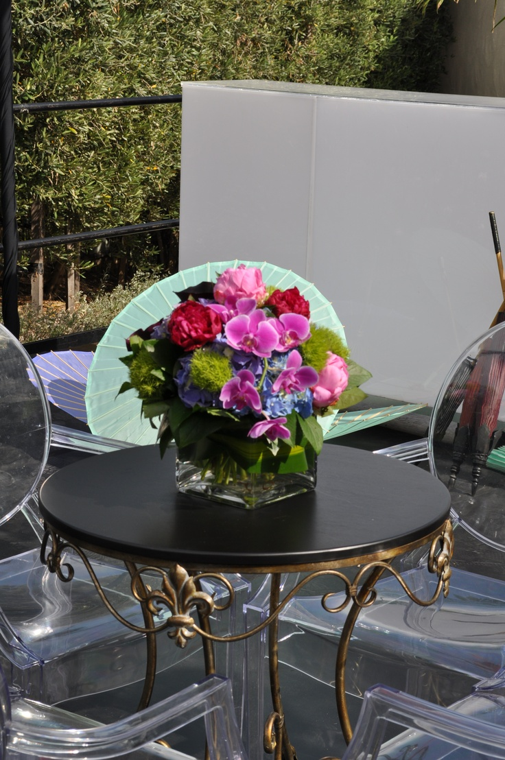 107 best center pieces and decor images on pinterest floral how incredible is this adelaide flower house centerpiece so much texture orchids green junglespirit Images