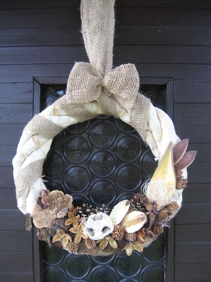 Podzimní inspirace...věnec na dveře