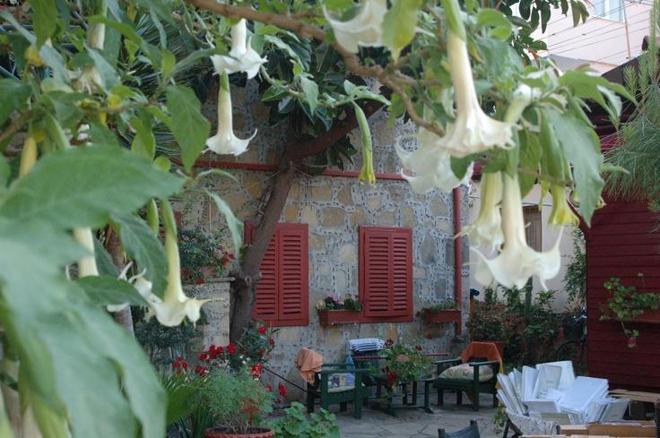 Romantisches Restaurant in Side Türkei