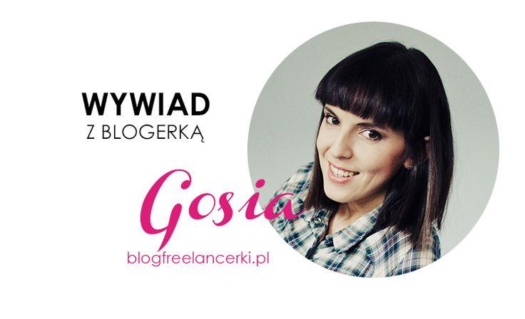 """""""Wyróżnij się! Blogów jest cała masa, cały czas powstają nowe, dlatego warto mieć coś swojego, co będzie nie do podrobienia: ciekawy design, oryginalna tematyka, inny punkt widzenia…"""" To podstawowa rada, jaką Gosia z Blog Freelancerki daje innym blogerkom. #wywiad #blogfreelancerki #gosiazimniak"""