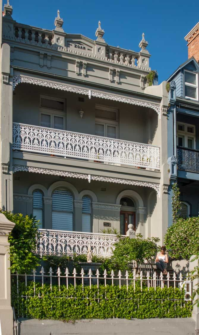 Victorian Terrace in Paddington, Sydney