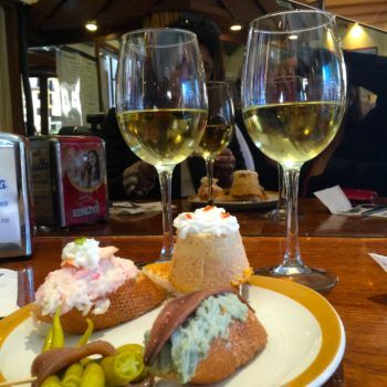 When in Spain, must try Pintxo in San Sebastian http://travelingwithmemyselfandi.com/san-sebastian-spain/