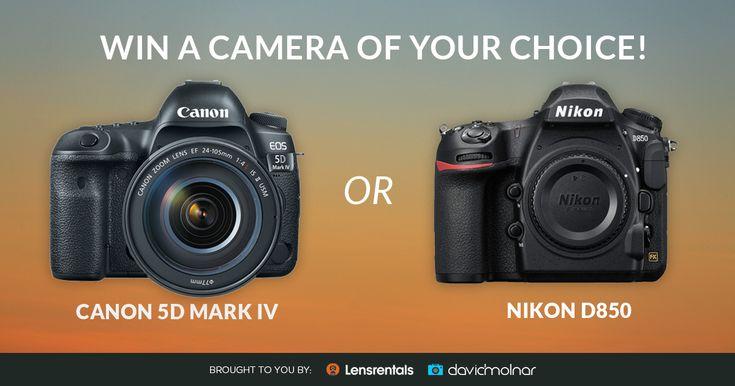 Win a Canon 5D Mark IV or Nikon D850 from @LensRentals & @davidmolnar