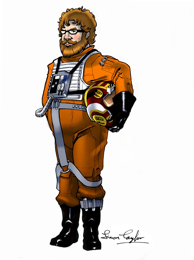Dave, the X-Wing Pilot