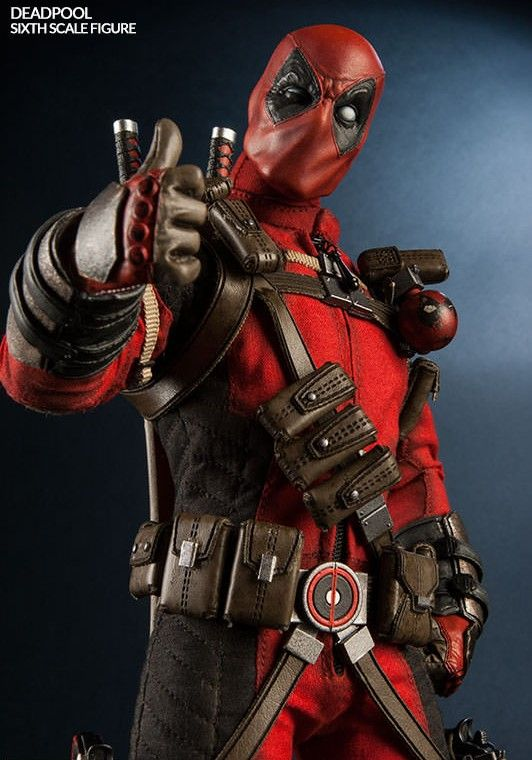 Sideshow Deadpool Figure Giving Thumbs Up