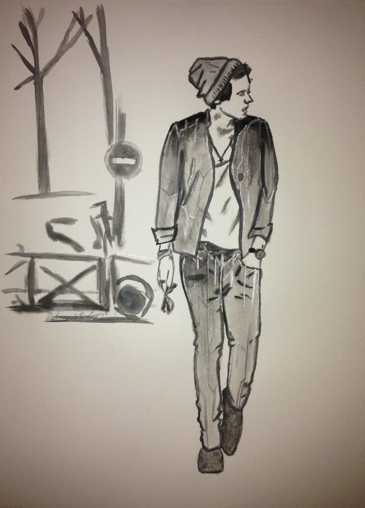 25 Best Images About One Direction Drawings On Pinterest
