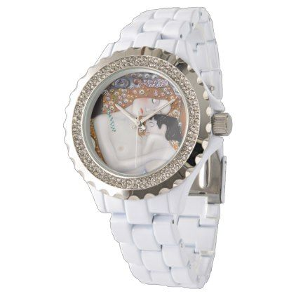 My Klimt Serie : Mother & Child Watch - diy cyo customize create your own personalize