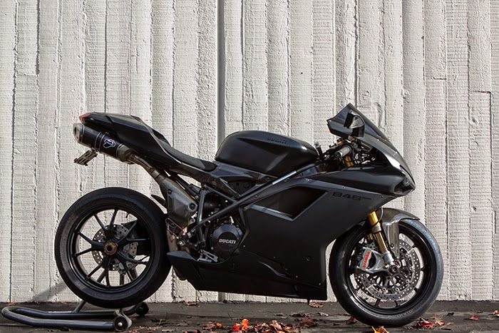 The Bullitt: For Sale :: 2011 Ducati 848 EVO Matte Black