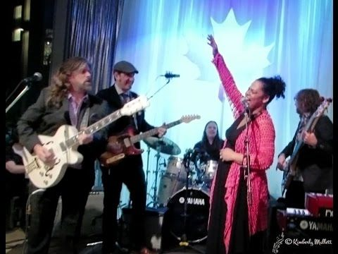 "Dawn Tyler Watson & Paul DesLaurier Band ""Rock Me Right"" 18th Maple Blues Awards 2015 After Party"
