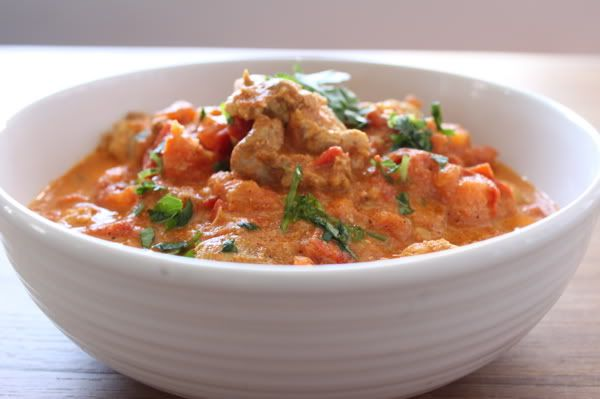 Butter chicken (paleo friendly)- Meh. Don't bother.