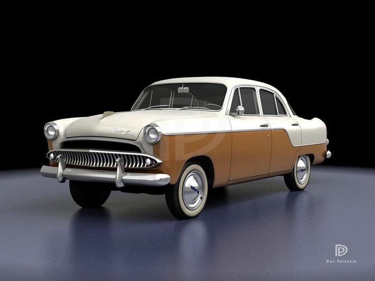 A Garagem Digital de Dan Palatnik   The Digital Garage Project: 1960 Aero Willys (Brasil)