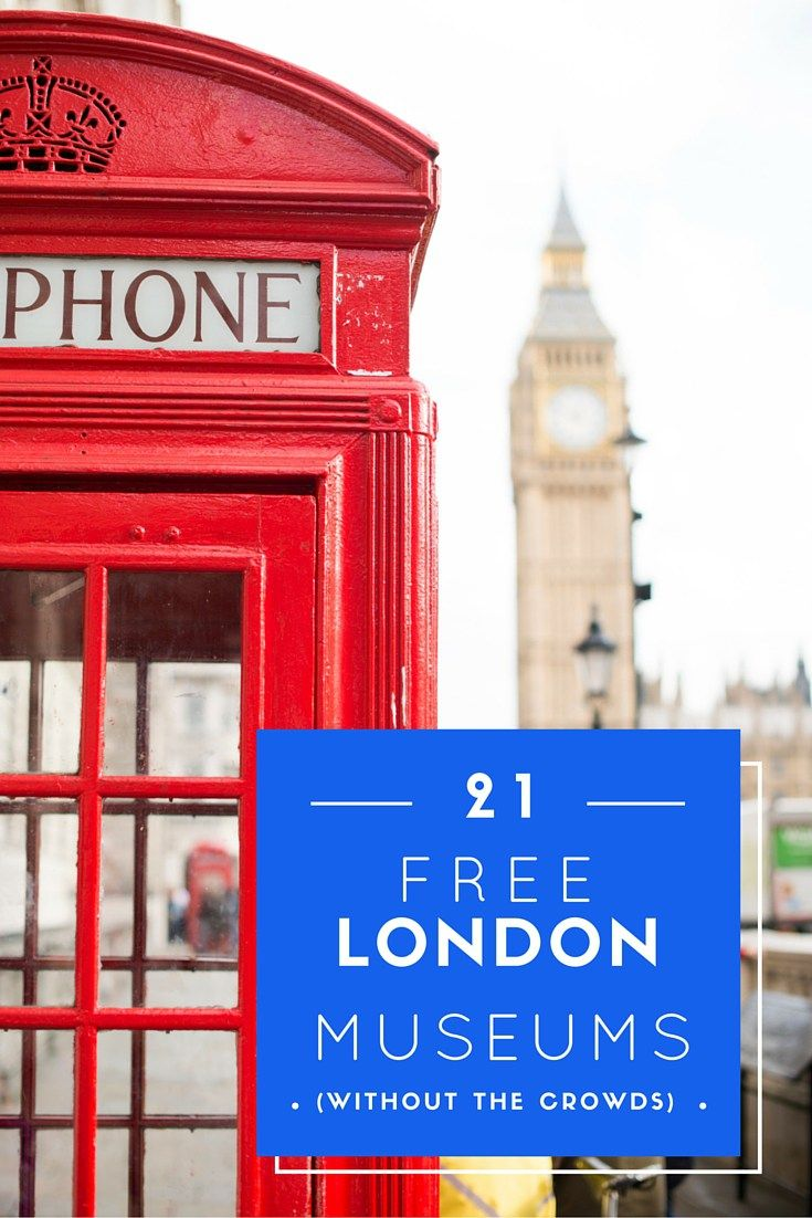 21 Free Museums in London (Without the Crowds). Lots of free museums in the capital that are less crowded than the big South Kensington museums, but just as interesting and unique!