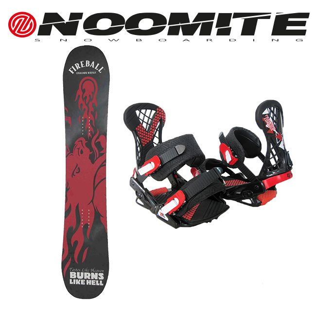 Noomite red dragon + Noomite bindings on sale