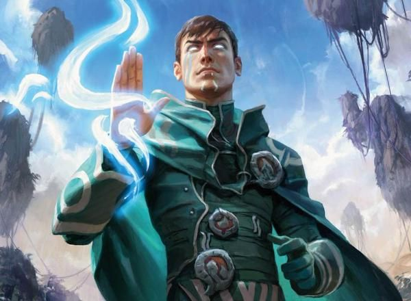 Jace Beleren. Planeswalker from MTG. Spoiler art for Winter 2016 Set, Oath of the Gatewatch.