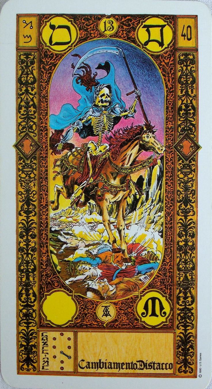 The Stairs Of Gold Tarot By M.S. Tavaglione Printed By US