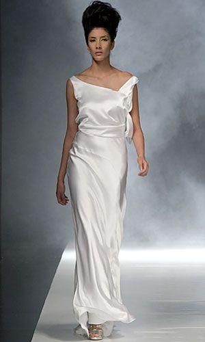 David Fielden Wedding Dress Collection 2010 - David Fielden Wedding Dress Collection 2010 6800 from InStyle.com