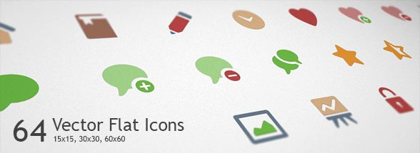 Lovicons — Free Vector Flat Icons