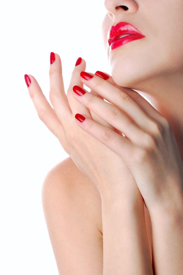#manucure #nails #nailpolish #red