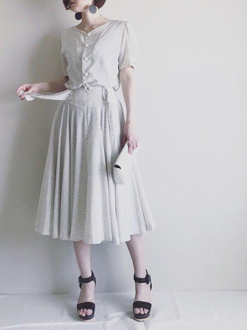 1着との出会いを大切に。ヴィンテージファッションを素敵に着こなそう | キナリノ