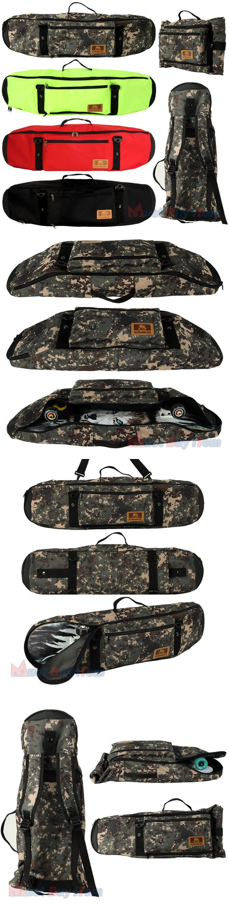 Other Skateboarding Clothing 159079: Skateboard Backpack Skate Retro Cruiser Fish Board Storage Carry Case Sport Bags -> BUY IT NOW ONLY: $79.98 on eBay!