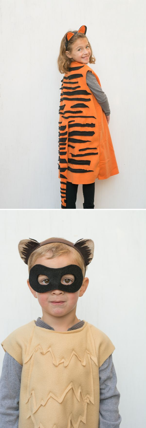 Simple Animal Costumes: Lions, Tigers & Black-Footed Ferrets | this heart of mine
