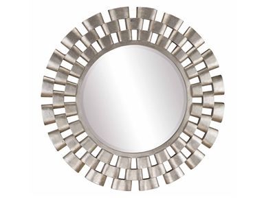 Stein World Living Room Links Round Wall Mirror