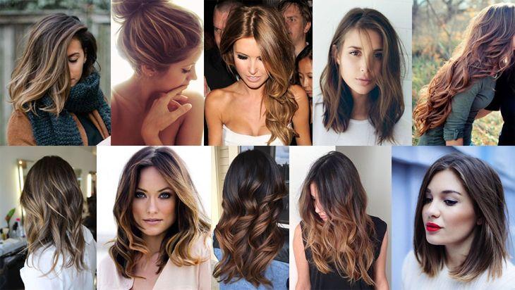 40 inspirações para você aderir - ou amar ainda mais - aos cabelos castanhos! Veja fotos de cabelos castanhos claros, médios, escuros e com luzes.