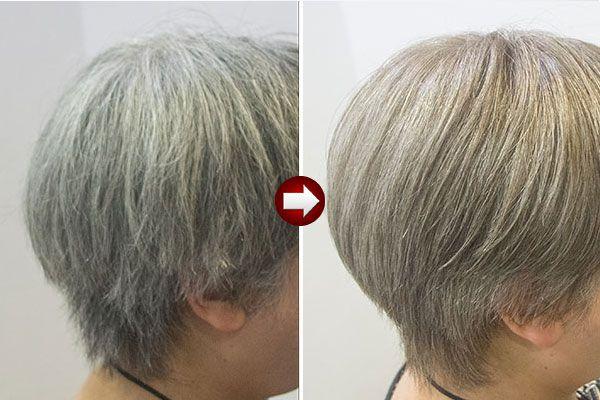 グレイヘア スタイル の新たな提案 白髪染め グレイヘア ヘアカラー