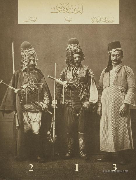 Zeibeks and Artisan of Aydin: Istanbul 1873