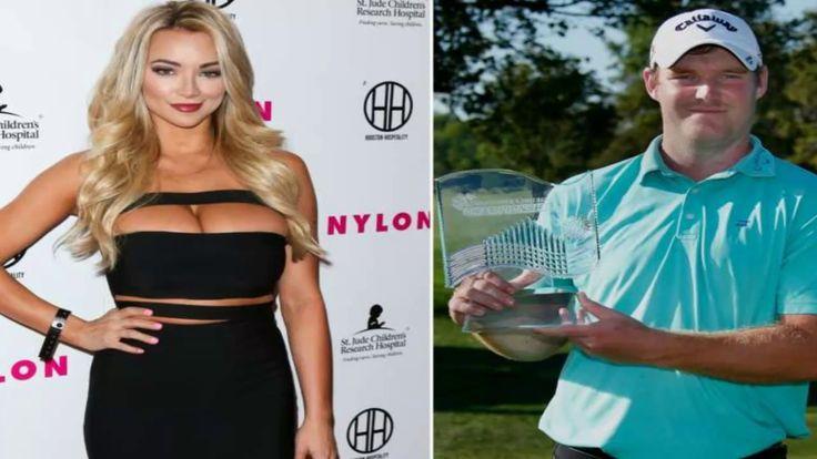 Playboy model Lindsey Pelas Agreed to be Golfer Grayson Murray's caddy