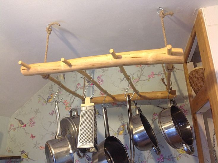 A personal favourite from my Etsy shop https://www.etsy.com/uk/listing/568778182/pot-rack-natural-classic-wood-hanging
