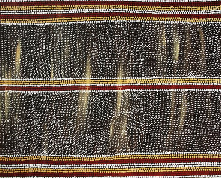Desert West of Alice Springs - Kintore by Mary Dixon Nungurrayi on Marrang Art