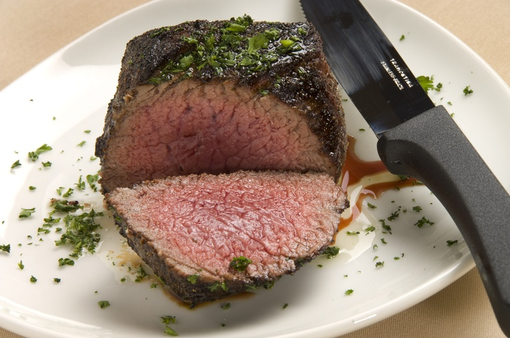 Baseball cut Sirloin steak at the MT Rib & Chop House!