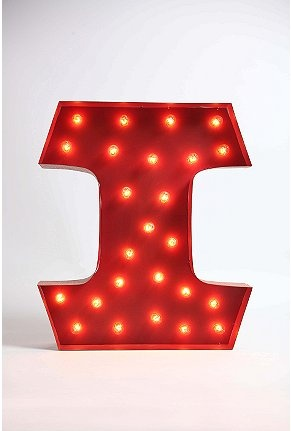 I've been in love with these lighted letters for a while now... if only they weren't so pricey...