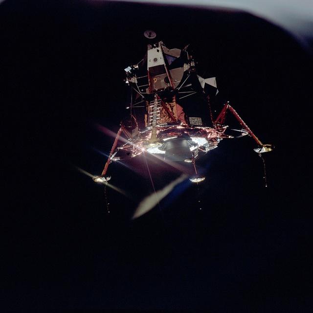 lunar module in space - photo #14
