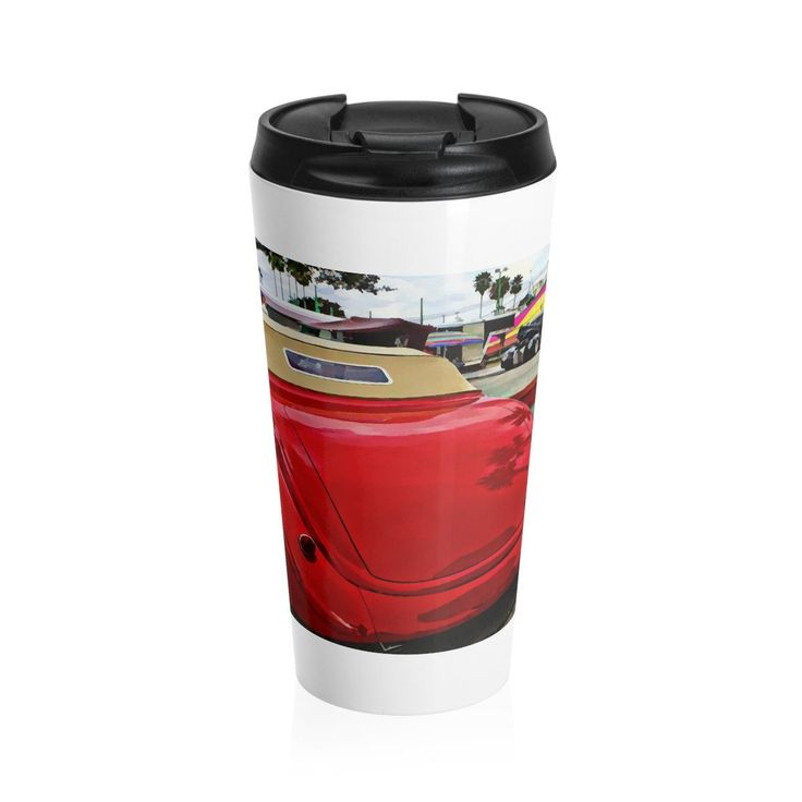 1937 Ford Hot rod Classic Car Stainless Steel Coffee Mug, Coffee Mug for Guys, Coffee Mug Travel