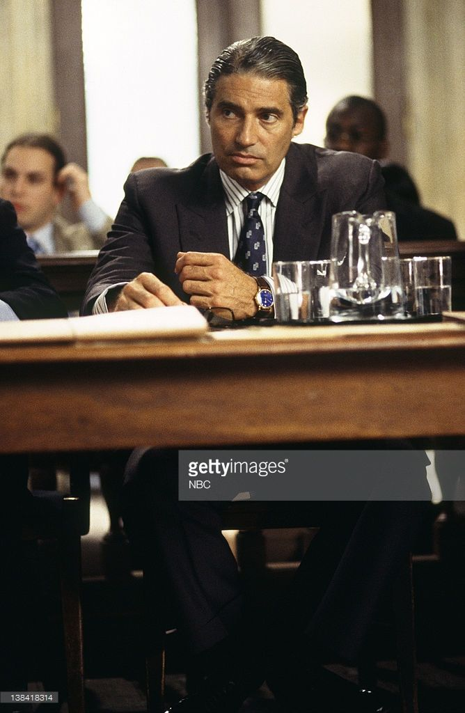 LAW & ORDER -- 'Harvest' Episode 4 -- Air Date -- Pictured: Michael Nouri as Dr. Donald Cosgrove