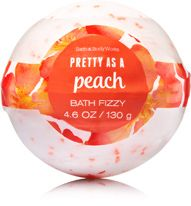 Signature Collection Pretty as a Peach Bath Fizzy - Bath And Body Works