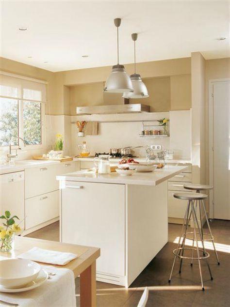 Motivos para tener isla en la cocina #cocinasrusticasminimalista