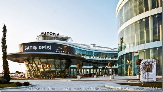 2013 Winner - Retail - Autopia, Istanbul by Gokhan Avcioglu & Dara Kirmizitoprak