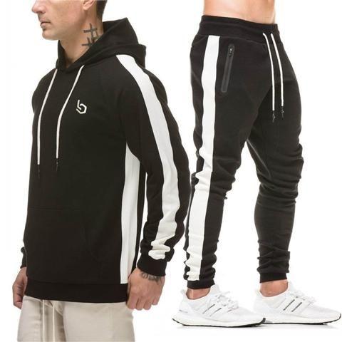 398082b060a New Fashion Men Set Long Sleeve Camouflage Hoodies Set Male Tracksuit  Outdoors Sport Suit Men s Gyms