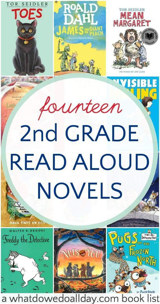 Wonderful 2nd grade read aloud books for classroom or at home