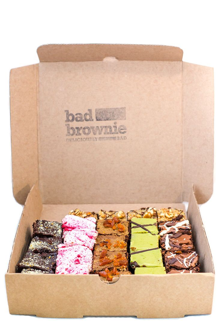 Chef's Selection Box - From Bad Brownie Street food vendor. You can find out more about this street food vendor on cookoutchef.com. #cookoutchef