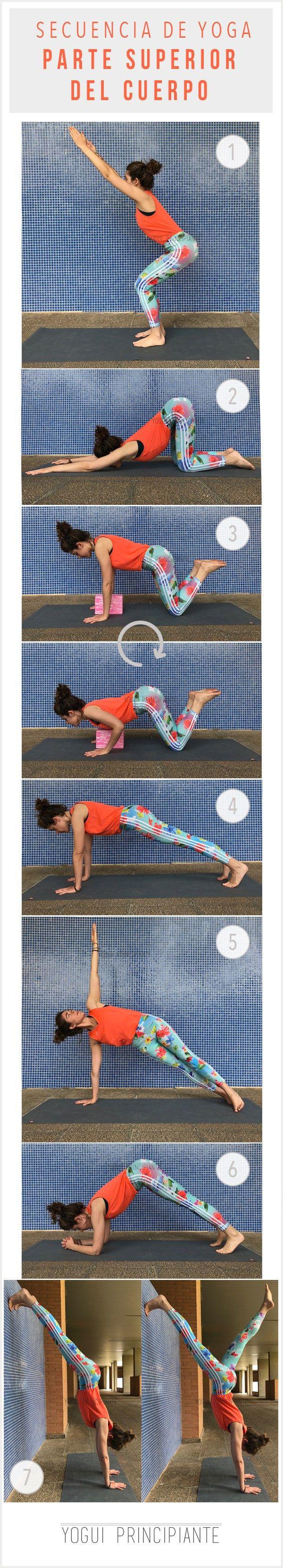 Secuencia de Yoga para brazos y hombros | YoguiPrincipiante.com