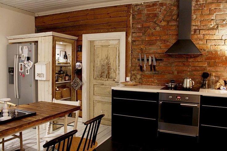 Maalaisromanttinen keittiö, Etuovi.com Asunnot, 56b4843ce4b09002ed1514c4 - Etuovi.com Sisustus