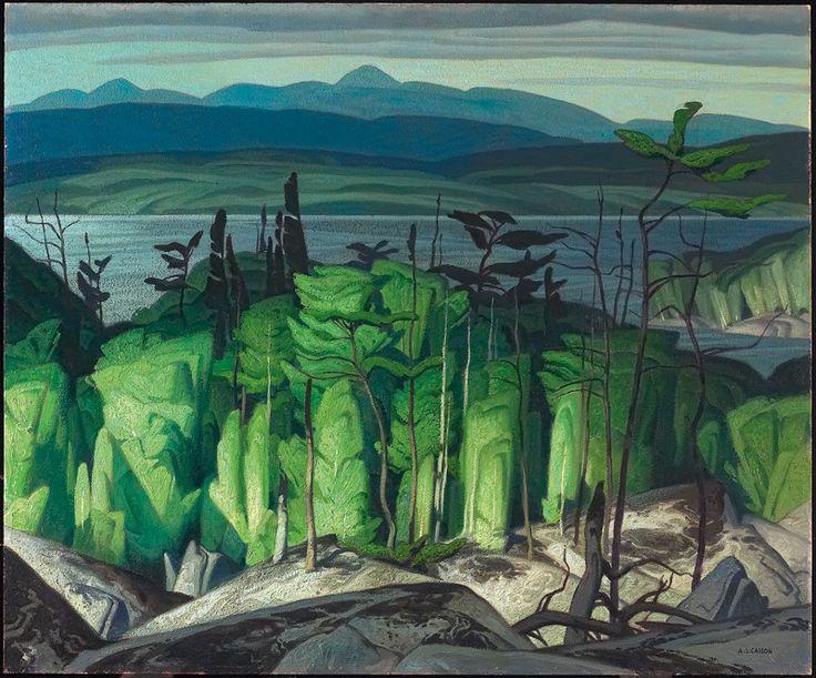 Pugh Lake Alfred Joseph (A.J.) Casson c. 1951